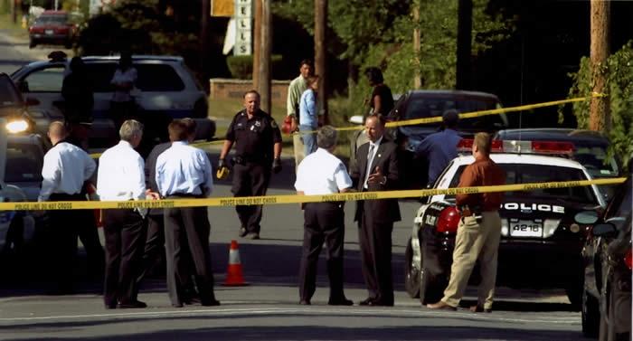 cops in street
